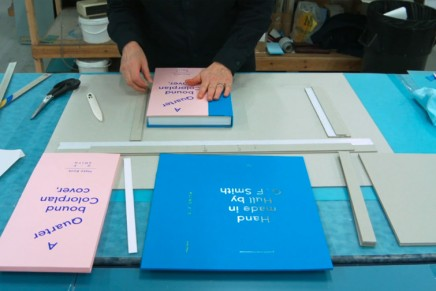La fabrication des Make Book de G.F Smith