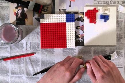Comment peindre un Mondrian en Lego ?