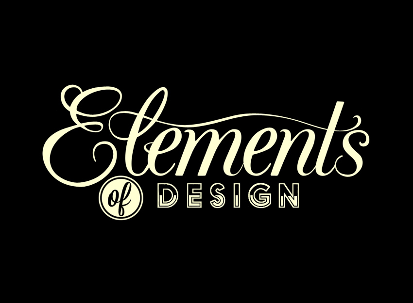 What Are The Elements Of Design : Elements of design undressed