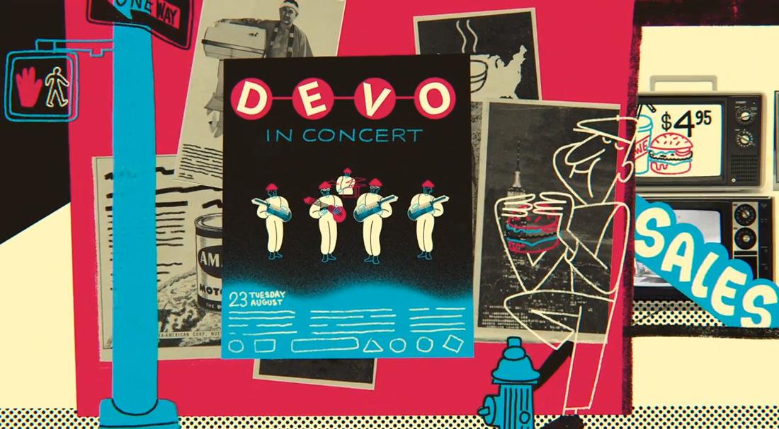 california inspires me Devo