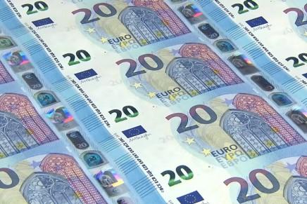 L'impression et la fabrication du nouveau billet de 20 euros