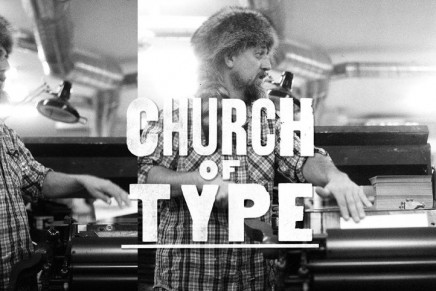 Church of Type. For letterpress lovers