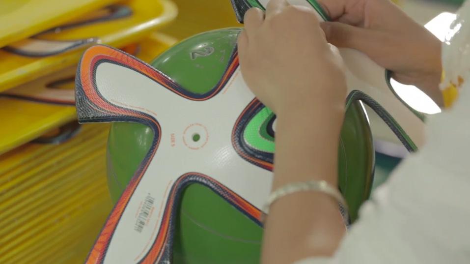 adidas brazuca FIFA 2014 making of