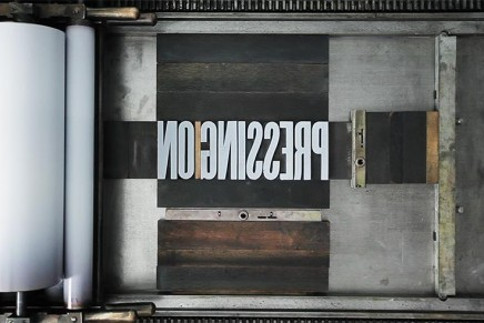 Pressing On : The Letterpress Film