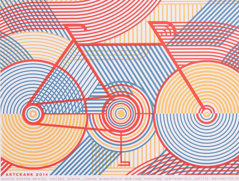 Artcrank vélo sérigraphie