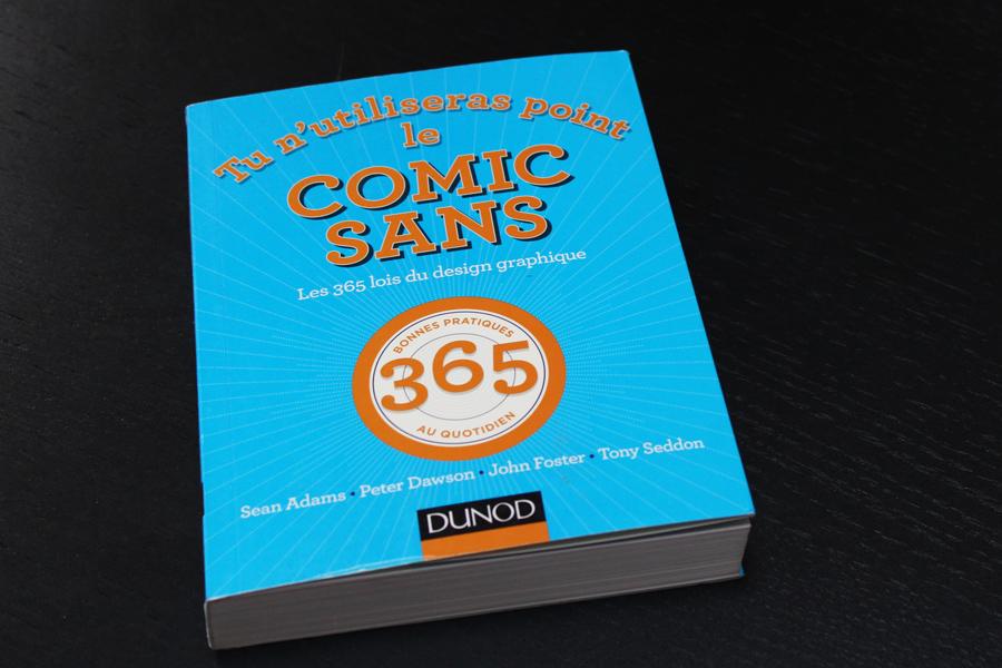 Livre Comic sans