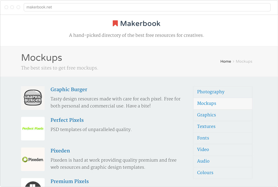 makerbook free ressources
