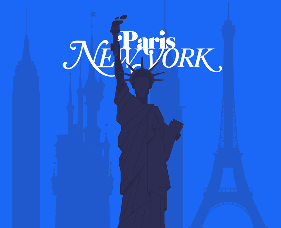 Paris vs new york video