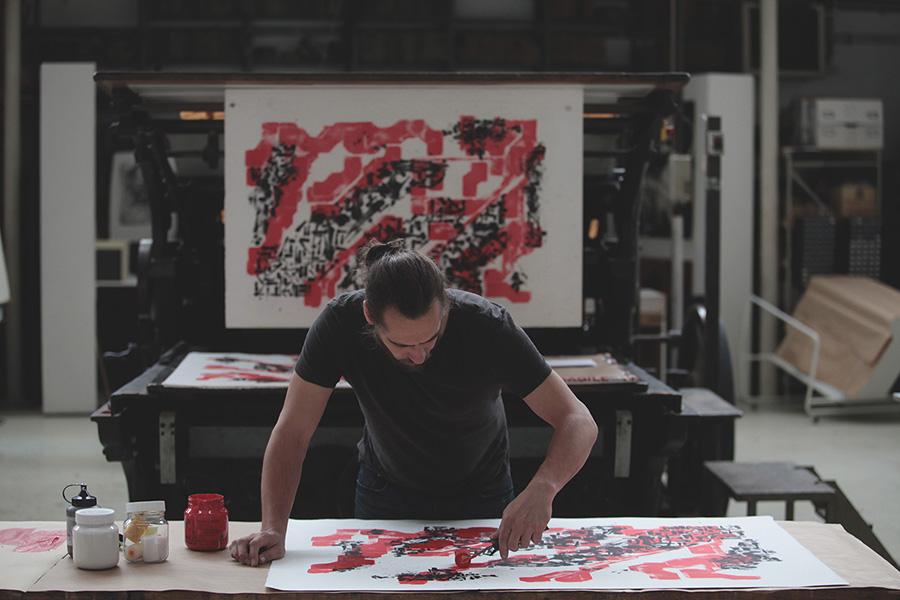 Lek and Sowat Paper Trail Sold Art