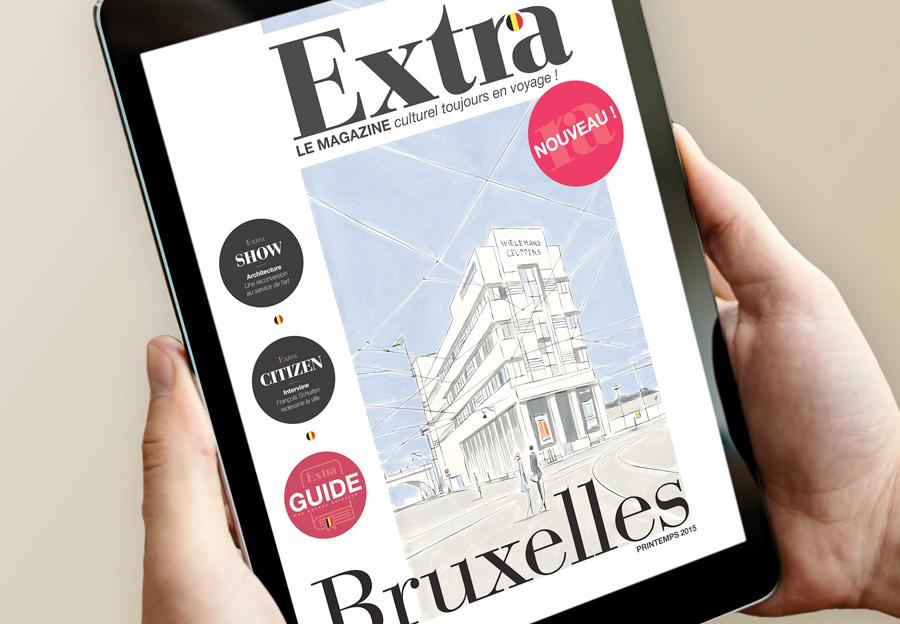 extra magazine voyage Bruxelles