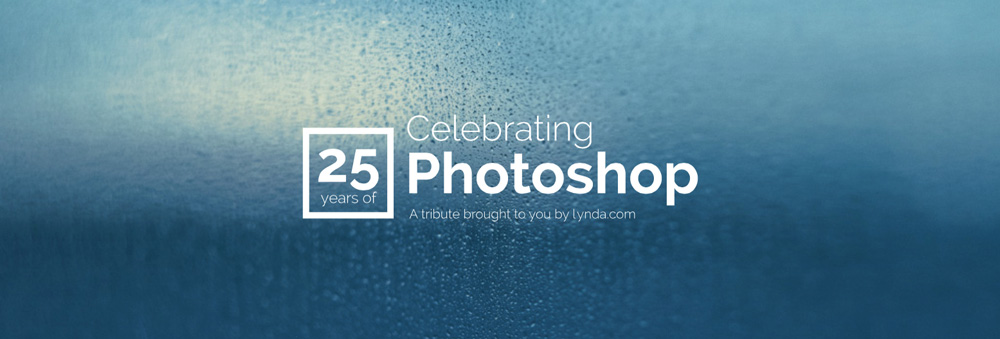 25 ans Photoshop Lynda tribute