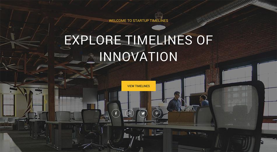 startup timeline