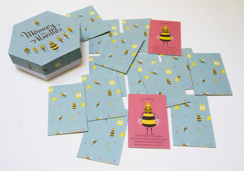 Jeu de carte abeille