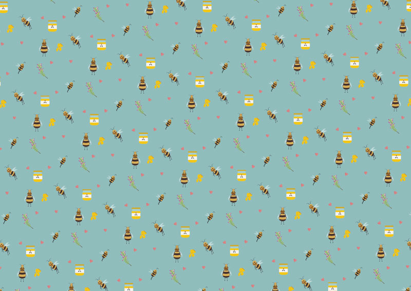 pattern abeille