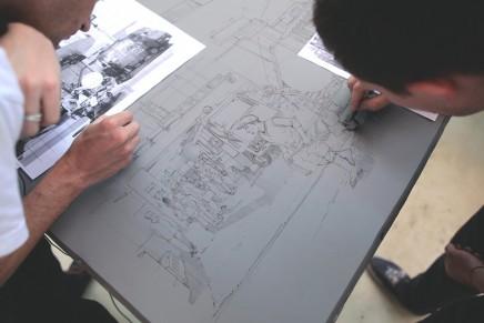 Découvrez le processus d'impression lithographique de l'oeuvre de Zoer & Velvet : Street Food