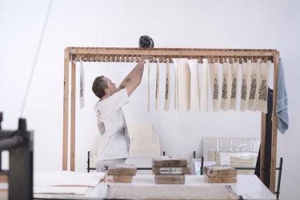 Découvrez le processus de l'oeuvre «Sybille's bath», eau-forte réalisée par l'artiste Ugo Gattoni