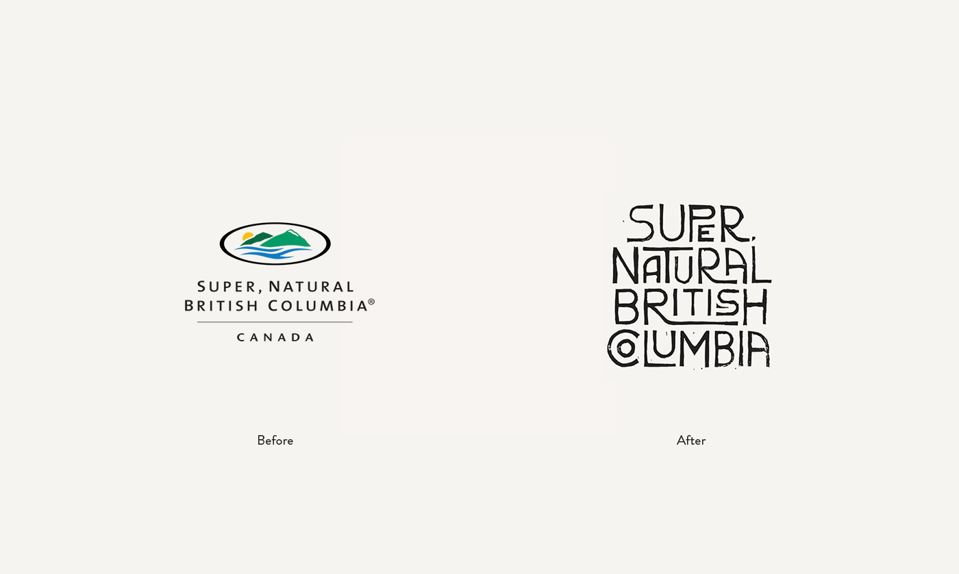 Super, Natural British Columbia Branding Ethos Montreal