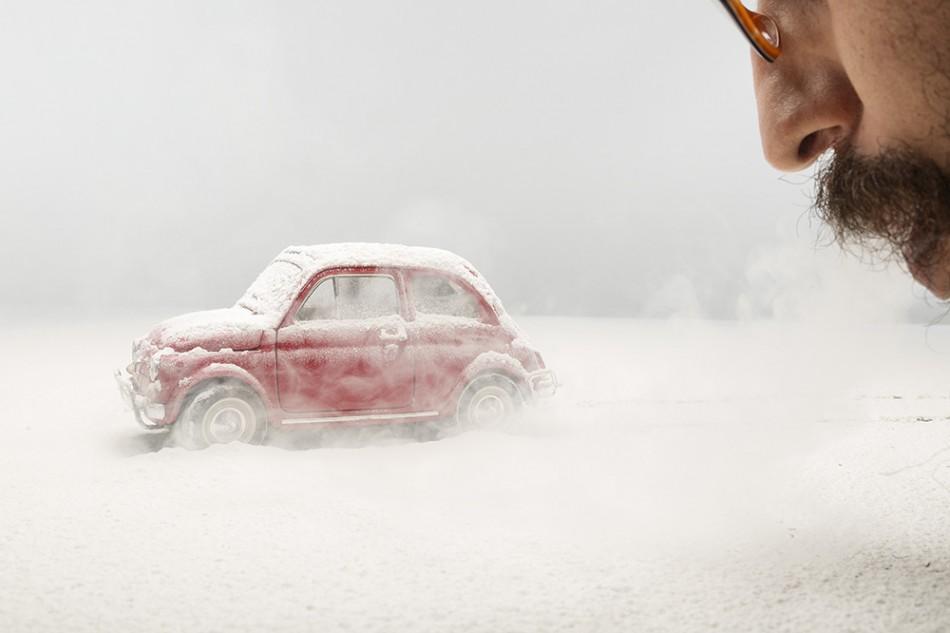The Love Car Photo retouching