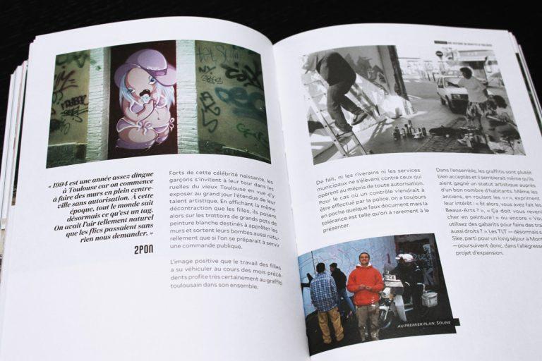Truskool Une histoire du graffiti à Toulouse livre Olivier Gall