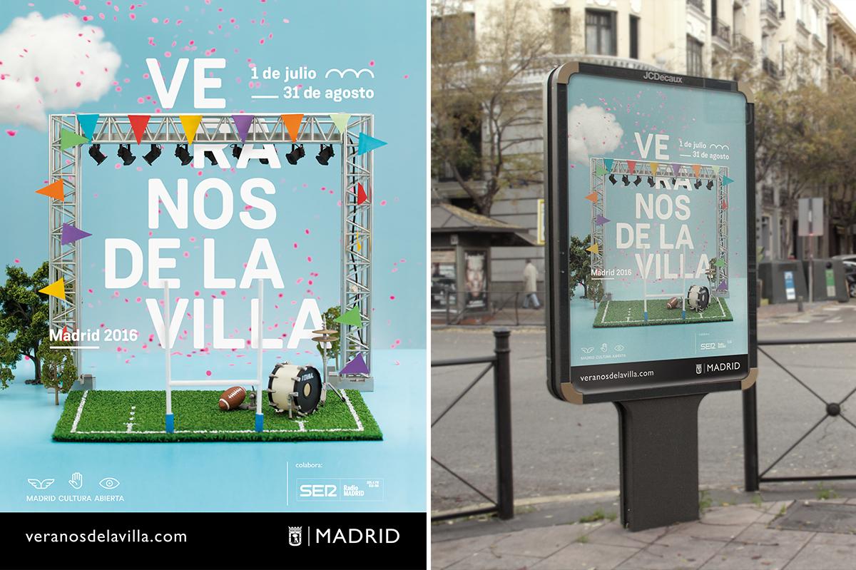 Veranos de la Villa Madrid branding