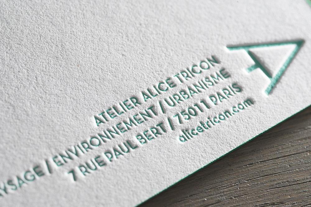 Spind imprimeur Letterpress