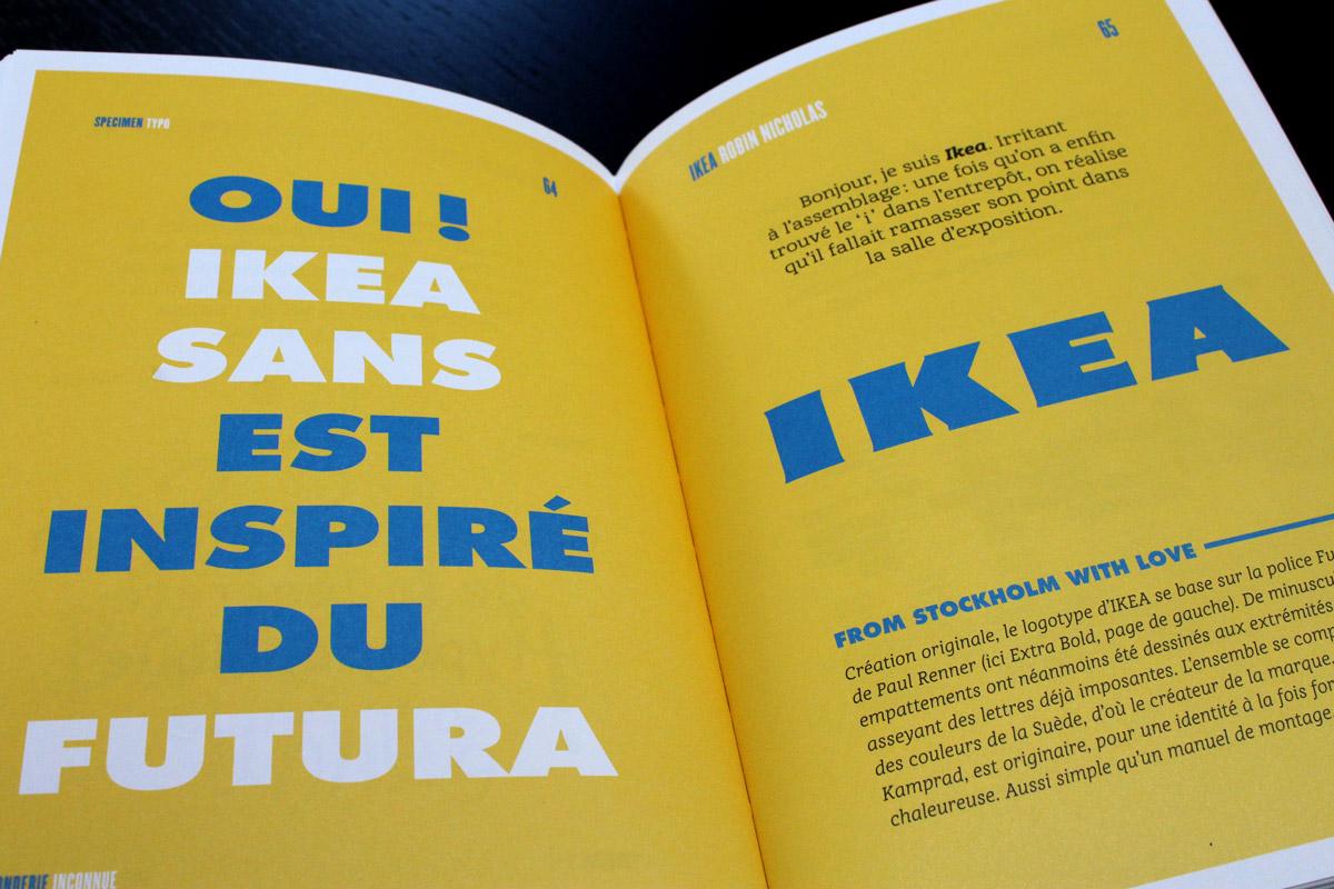 What the font Steve Poutre