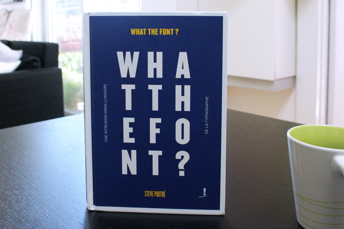 What the font Steve Poutre