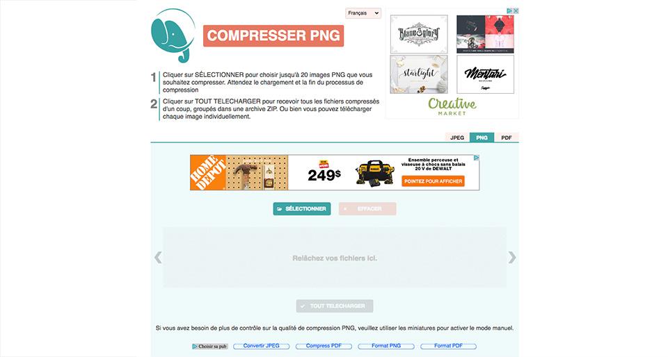 Compresser Png