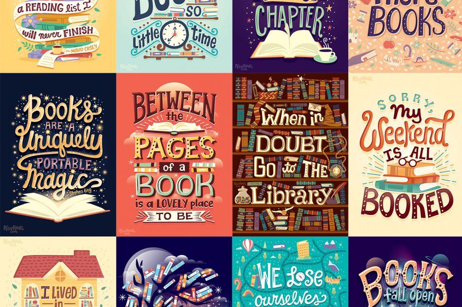 Risa Rodil illustre son amour pour les livres