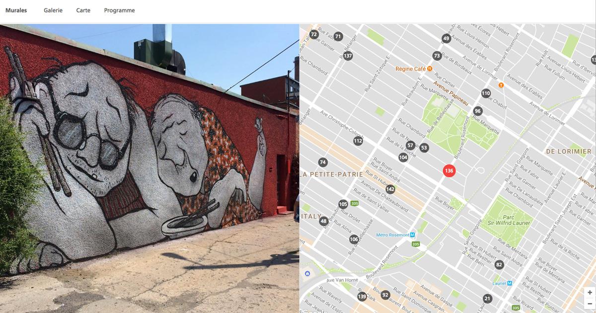 Montreal street art Ella et Pitr