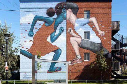 Visiter Montréal en murale