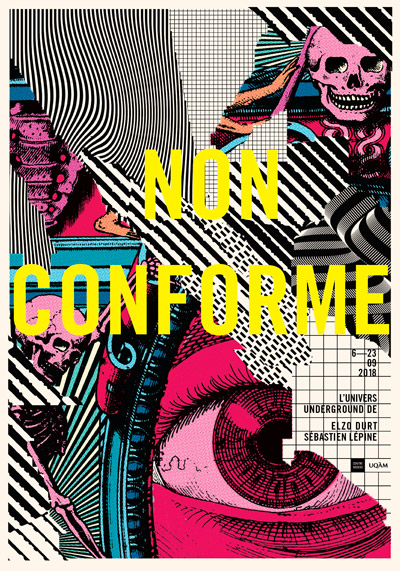 Non conforme UQAM Montreal Gig posters