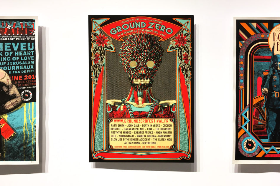 Non conforme UQAM Montreal Gig posters Elzo Durt