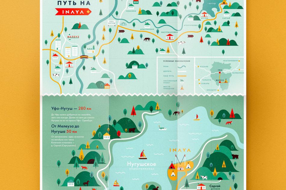 Inaya festival identite graphique