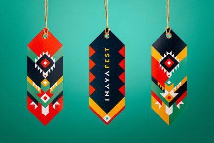 Inspiration graphique | L'identité visuelle colorée et spirituelle du festival INAYA