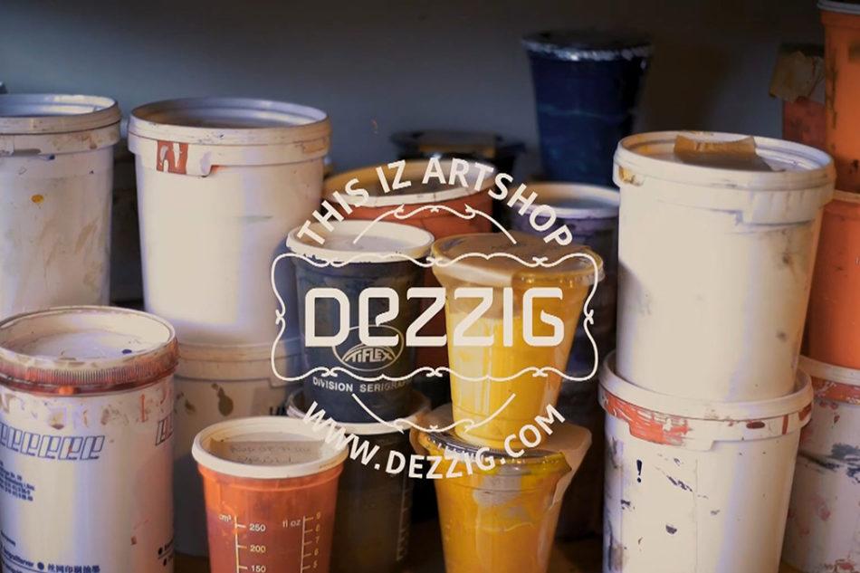 Portes ouvertes de l'atelier de sérigraphie Dezzig